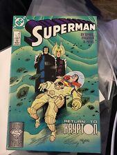 VINTAGE SUPERMAN #18 JUNE 1988 COMIC * DC COMICS * RETURN to KRYPTON Pls See Des