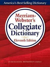 Merriam-Webster's Collegiate Dictionary, 11th Edition thumb-notched with Win/Mac