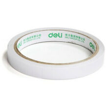 1 Rolls White Double Sided Super Strong Adhesive Stationery Tape Sticker Glue JP