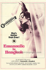 EMMANUELLE IN BANGKOK Movie POSTER 27x40 Laura Gemser Gabriele Tinti Ely
