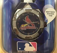 St. Louis Cardinals Game Time Clip On Watch NEW MLB
