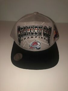 COLORADO AVALANCHE Vintage 1996 Stanley Cup Champions STARTER Snapback Hat NEW
