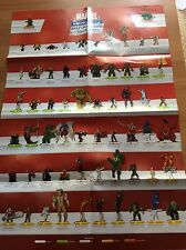 HeroClix MUTATIONS and MONSTERS  POSTER  ELENCO LIST RARE WIZKIDS