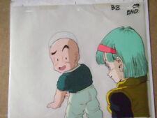 Dragonball Z Akira Toriyama Bulma Kuririn Krillin Anime Production Cel