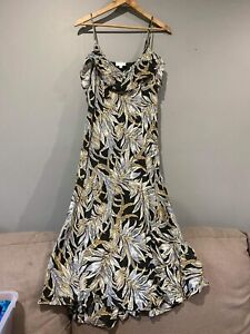 WITCHERY Strappy Maxi Dress Size 10 NWOT Casual Summer