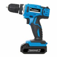 Silverline 18v Li-Ion Cordless Drill Driver with 1.3Ah Battery Power Tool