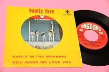 """VANITY FARE 7"""" EARLY IN THE MORNING ORIG ITALY 1969"""