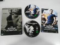 Bourne Ultimatum   2 DVD Steelbook English Deutsch - German Edition Matt Damon