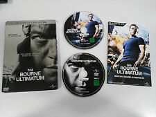 BOURNE ULTIMATUM 2 DVD STEELBOOK ENGLISH DEUTSCH - GERMAN EDITION MATT DAMON