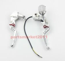 Adelin CNC PX-2 Brake Clutch Levers Master Cylinder For Ruckus Zoomer 7/8 Silver
