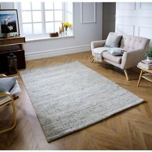 Vista Wool Rugs - Cream Colour Authentic & Textured Design 120x170cm OW