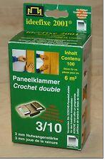 Paneelklammer 3/10 Kosche ideefixe Paneel Profilholz Befestigung Wand Decke NEU