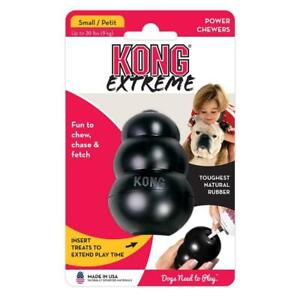 KONG Extreme Black Dog Chew Toy Tough Power Chewers Small