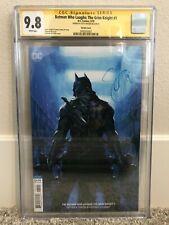 Batman Who Laughs: The Grim Knight #1 CGC 9.8 SS Dell'Otto