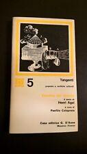 ESTETICA DEL CINEMA, IL TESTO DI HENRI AGEL, A CURA DI PANFILO COLAPRETE - 1973