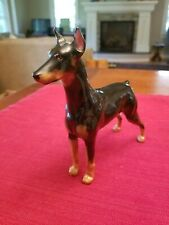Royal Doulton Hn2645 Doberman Pinscher Ch. Rancho Dobe's Storm Perfect Cond
