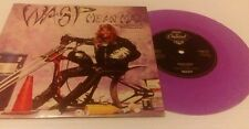 """WASP 7"""" vinyl Mean Man special means test pack purple disc"""