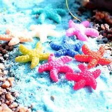 5Pcs Resin Miniature Starfish Fish Tank Aquarium Landscape Ornaments Decor