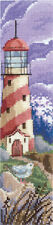 """Counted Cross Stitch Kit MAKE YOUR OWN HANDS B-51 - """"Bookmarks. Storm"""""""