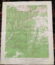 USGS Topographic Map 1912 Data SODA CANYON QUADRANGLE, COLORADO