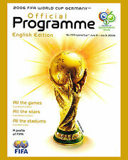 2006 Germany World Cup - Poster of Tournament Program - 8x10 Color Photo