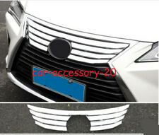 ABS Chrome Front upper Grille Molding Cover trim For Lexus RX350 450h 2016-2019