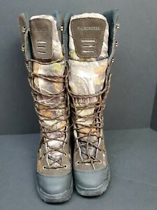"""Lacrosse 12"""" Youth Venom Scent Camo Snake Boot Size 4 Youth 425600 READ 1ST"""