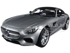 MERCEDES AMG GT SILVER 1:24 DIECAST MODEL CAR BY MAISTO 31134