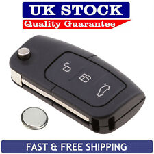 Ford 3 Button Remote Key Fob Case Service Repair Kit Fits Focus Mondeo Ecosport