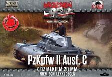 First to Fight 1/72 Pz.Kpfw.II Ausf.C German Light Tank # 010