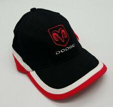Dodge Ram Logo Motor Company Red Black White Adjustable Hat Cap NWOT Unworn