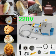 220V 350WJewelry Rock Polishing Buffer Bench Lathe Polisher Machine+Accessories