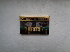 Vintage Audio Cassette MEMOREX CD2 90 * Rare US Model 1995 *