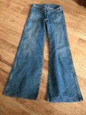 Ladies Wrangler Jeans Flares 24 Inch Waist 25 Inch Indise Leg