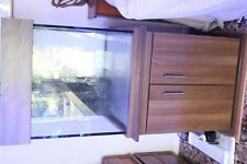 300ltr Clearseal aquarium and cabinet.Cube 600mm x600mm x600mm.+extras.
