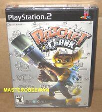 PS2 Ratchet & Clank Original 1st Print Black Label New Sealed PlayStation 2
