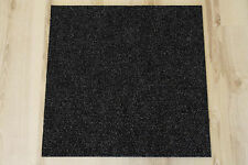 Carpet Tiles Prima 50x50 cm B1 Balta 965 Black B-s1