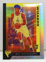 Rui Hachimura RC 2019-20 Chronicles Flux Silver Prizm Rookie Card 582 Wizards SP