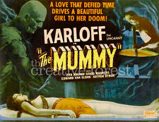 THE MUMMY, 1932 Vintage Horror Movies Reproduction CANVAS PRINT 30x24 in.