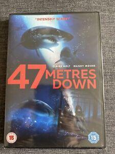 47 Metres Down NEW SEALED DVD