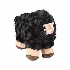 "Minecraft 10"" Sheep Plush Stuffed Animal Kids Toys Black Kids gift"