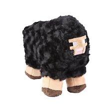 "Minecraft 10"" Sheep Plush Stuffed Animal Kids Toys Black"