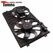 Electric Double Radiator Cooling Fan  for VW GOLF Caddy 1.4 1.6 2.0 SDi 1.9 TDI