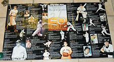LARGE NY POST New York Yankees  1923-2000 Timeline Poster 26 World Championships