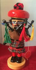 """Steinbach Nutcrackers - CHUBBY BAGPIPER - with Hangtag 12"""""""
