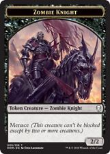 5//16 CHINESE ZOMBIE KNIGHT TOKEN X4 Dominaria DOM Magic MTG MINT CARD