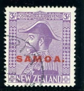 Samoa 1926 KGV 3s mauve (wmk upright) very fine used. SG 168. Sc 155.