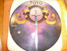 "TOTO ""TOTO"" Picture Disc 12"" LP Vinyl 33Rpm PROMO –Columbia Records (1979) USA"