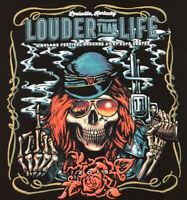 Guns N Roses Louder Than Life T-Shirt 2-Sided 2019 Concert Tour Rock Band Tee M