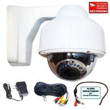 Security Camera 700TVL Audio Mic Video Outdoor Night Varifocal Surveillance C2N